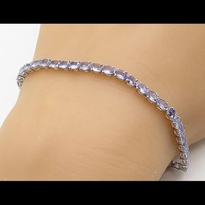 Sterling 925 Natural Tanzanite Bracelet 🔥SALE🔥